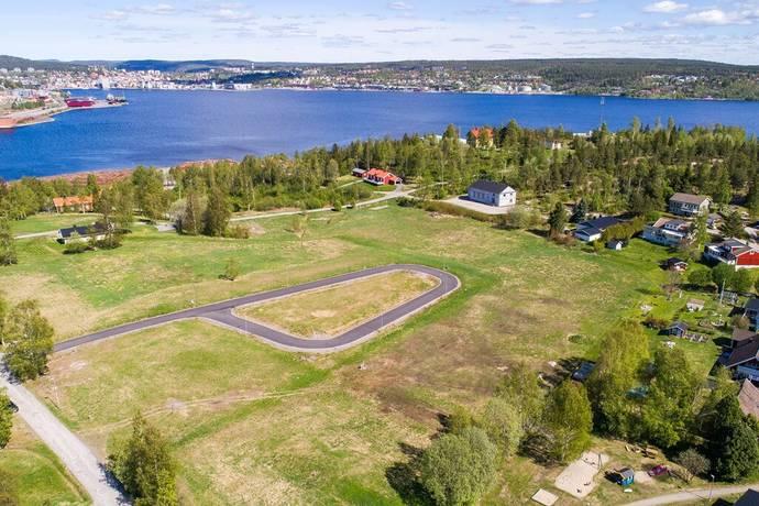 Bild: tomt på Stallbacken 27, Örnsköldsviks kommun Stallbacken