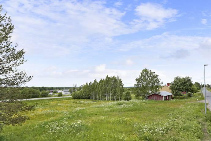 Bild: tomt på Alviksvägen 43, Luleå kommun Alvik