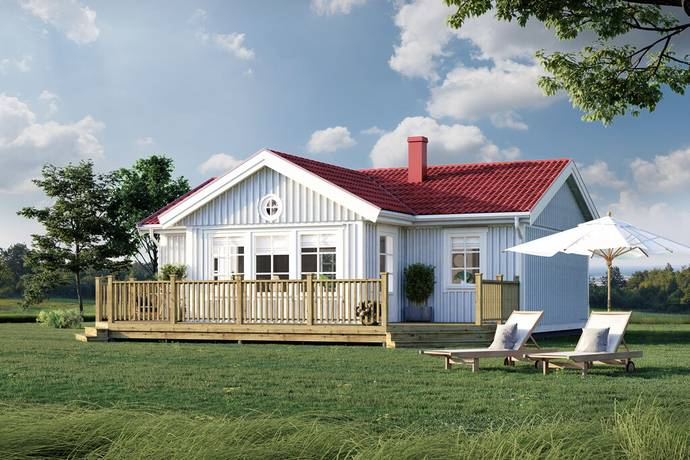 Bild från Nyproducerade fritidshus i bostadsrättsform!