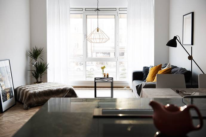Bild: 3 rum bostadsrätt på Bysistorget 6, 1 tr, Stockholms kommun Södermalm