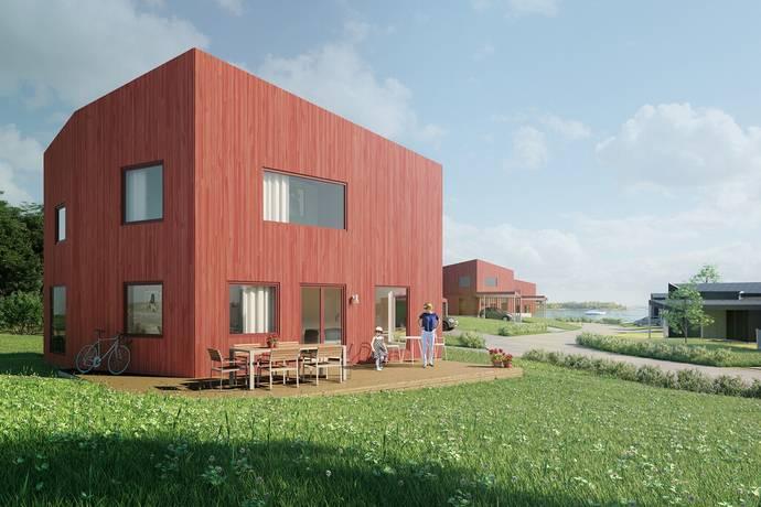 Bild: 6 rum villa på Ångslupsvägen 14 (BÅKEN 6), Karlskrona kommun Hästö Marina