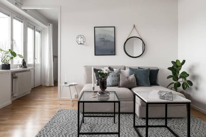 Bild: 2 rum bostadsrätt på Tre kronors väg 25, 1 tr, Nacka kommun Kvarnholmen