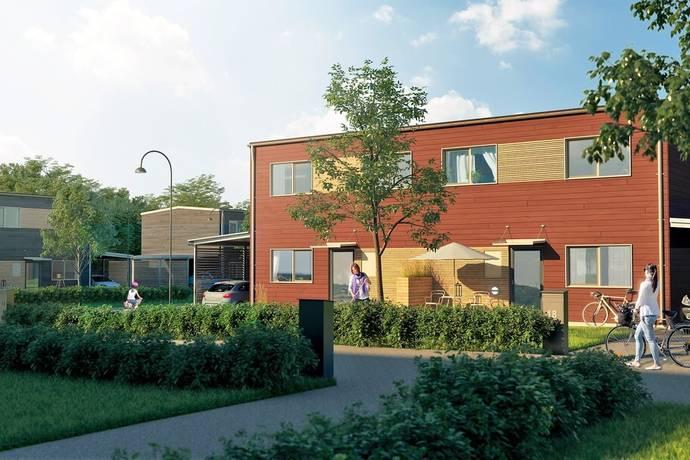 Bild: 5 rum radhus på Björnö allé lgh A 5, Norrtälje kommun