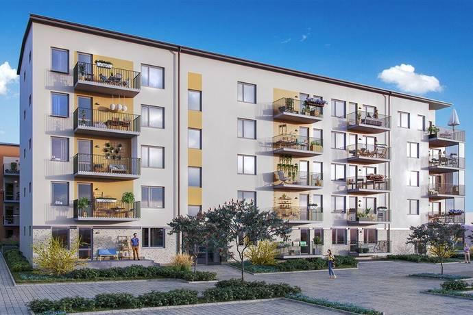 Bild: bostadsrätt på Etapp 4 - Brf Fältharen, Drottninggatan 3, Norrtälje kommun Grossgärdet