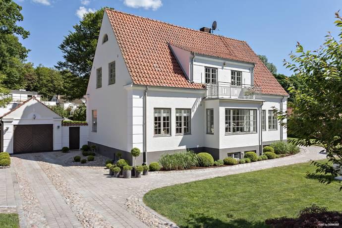 Bild: 7 rum villa på Danielslundsgatan 24, Ängelholms kommun Hembygdsparken