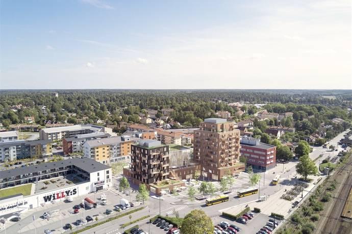 Bild: 2 rum bostadsrätt på Brf Sågverket, Knivsta kommun Centralt