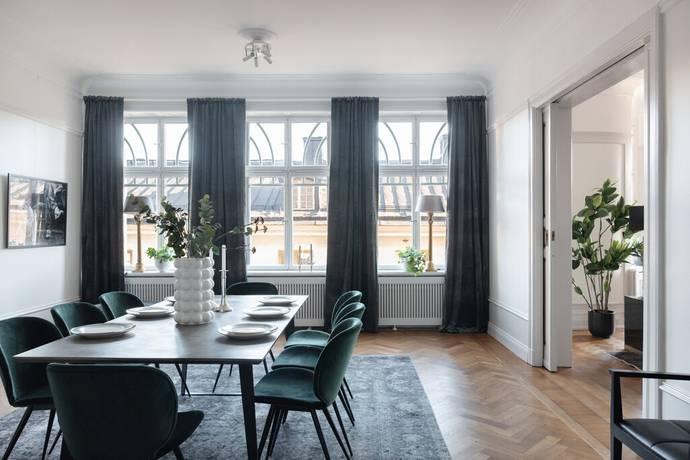 Bild: 6 rum bostadsrätt på Sibyllegatan 9, 2 tr, Stockholms kommun Östermalm