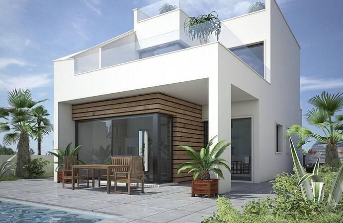 Bild: 4 rum villa på Modern villa nära golfbana, Spanien Pilar De La Horadada-Costa Bla