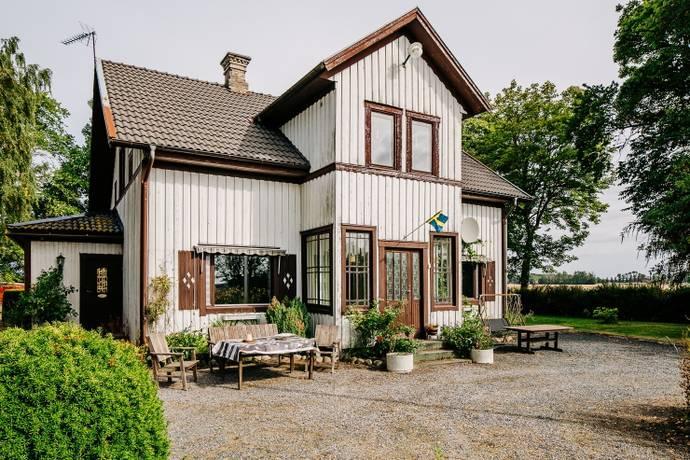 Bild: 3 rum villa på Hyringa Stora Laggaregården 3, Grästorps kommun