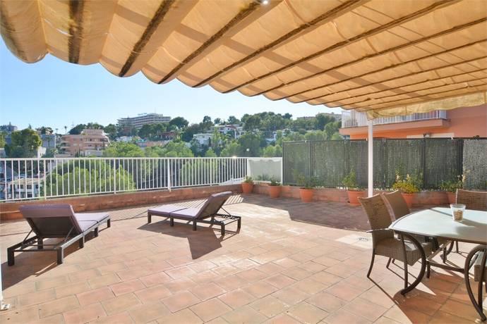 Bild: 4 rum bostadsrätt på Pool och stor terrass i el Terreno, Spanien Palma | Mallorca