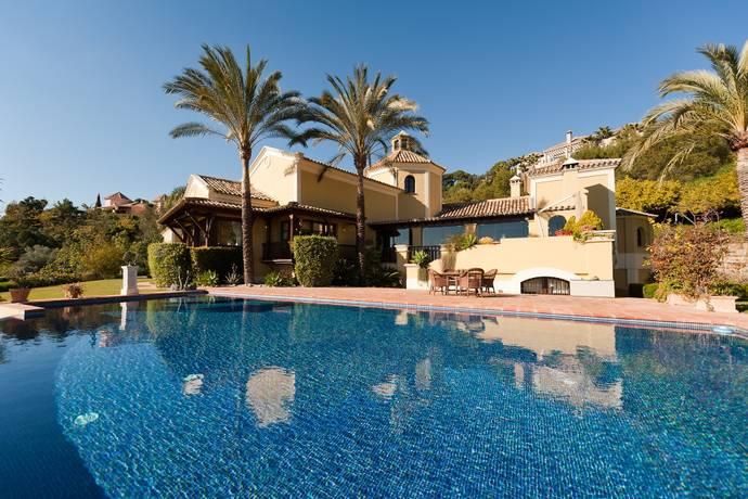 Bild: 456 m² villa på Villa i Marbella, Costa del Sol, Spanien Benahavis