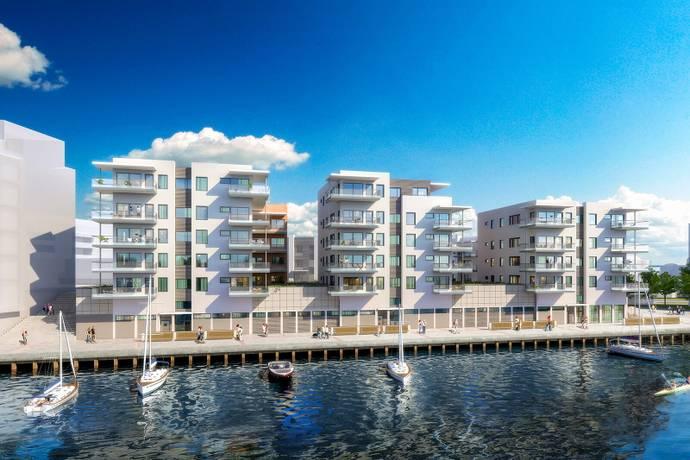 Bild: 3 rum bostadsrätt på Utrustningskajen 7, Kalmar kommun Varvsholmen