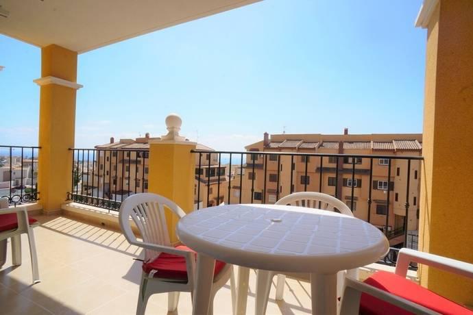 Bild: 3 rum bostadsrätt på Stor Balkong, Pool, Garage, Spanien 3:a med havsutsikt