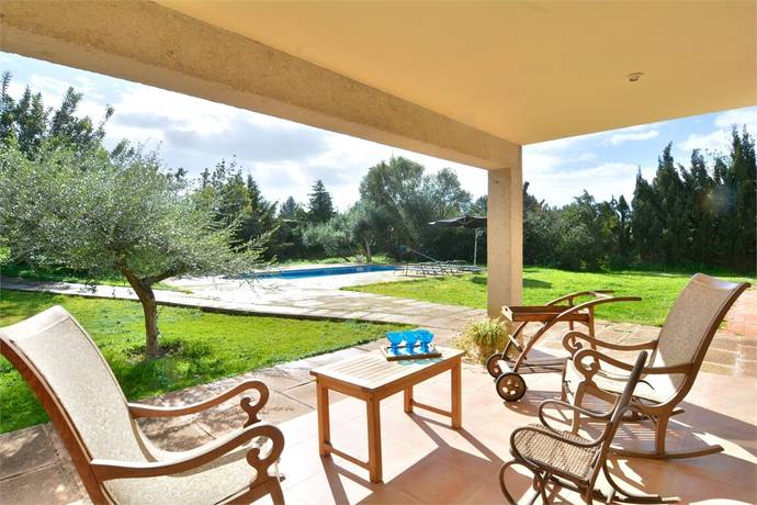 Bild: 6 rum villa på Stor enplansvilla med privat pool, Spanien Es Garrovers   Mallorca
