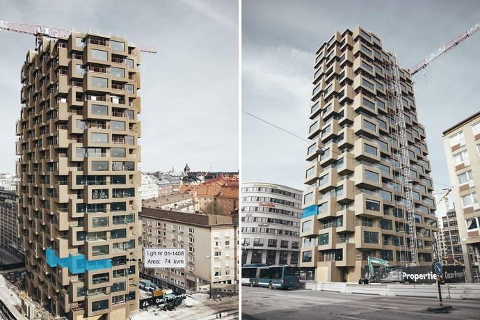 Bild: 3 rum bostadsrätt på Torsplan 8, plan 4 - Norra Tornen, Stockholms kommun Hagastaden Vasastan