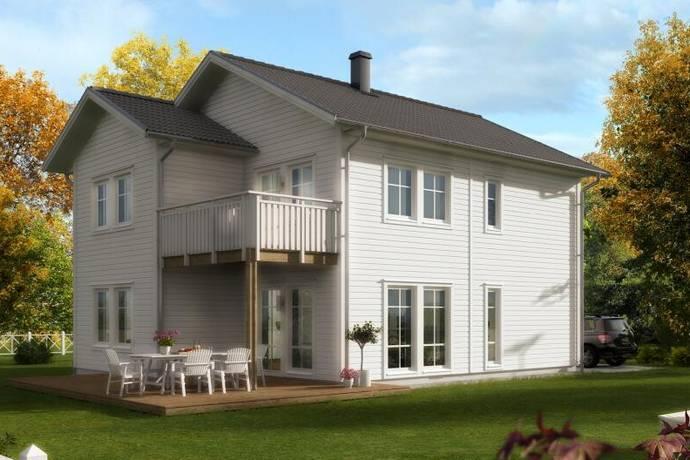 Bild: 5 rum villa på Husbacka, Villa Optimal 151 (LB-Hus) tomt nr 1, Östhammars kommun Östhammar