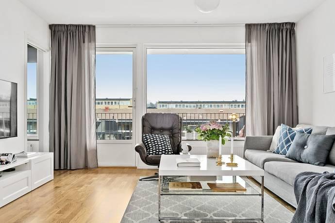 Bild: 3 rum bostadsrätt på Vallhamra Torg 1A, Partille kommun Sävedalen