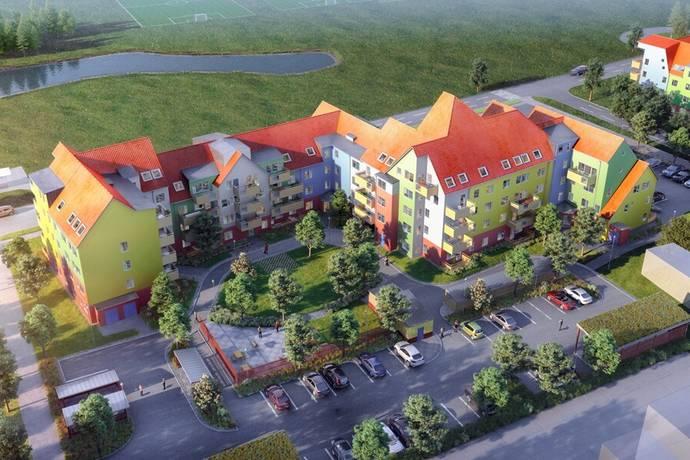 Bild: 4 rum bostadsrätt på Vänortsgatan 9, Västerås kommun Lillhamra