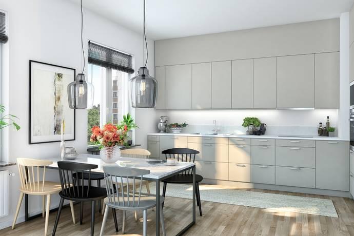 Bild: 2 rum bostadsrätt på Östervägen 28 B, Solna kommun Råsunda