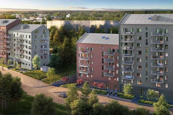 Bild: 3,5 rum bostadsrätt på Rissneleden 165, Sundbybergs kommun Sundbyberg