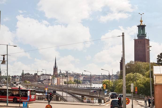 Bild: 2 rum bostadsrätt på Blekholmsterrassen 3, 4tr, Stockholms kommun Vasastan City / Norrmalm