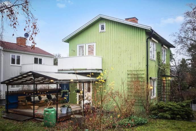 Bild: 4 rum villa på Skovelvägen 7, Stockholms kommun Långbro