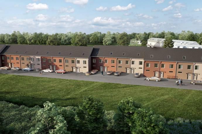 Bild: 6 rum radhus på Skvaltagatan 6, Upplands Väsby kommun Fresta
