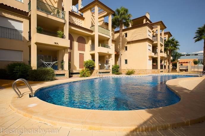 Bild: 3 rum bostadsrätt på Solig lägenhet i centrum, Spanien Albir   Costa Blanca