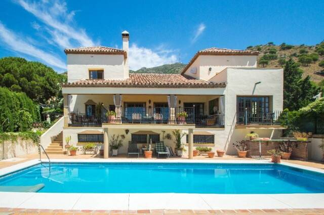 Bild: 7 rum villa på Mijas - Stor villa med panoramautsikt belägen i Buenavista, Spanien Mijas