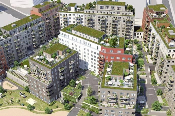 Bild: 4 rum bostadsrätt på Virkesvägen 13, Stockholms kommun Hammarby Sjöstad