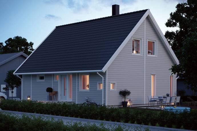 Bild: villa på Sundby Strand, Strängnäs kommun