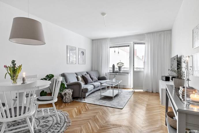 Bild: 2 rum bostadsrätt på Vänortsgatan 12 B, Mölndals kommun Bosgården