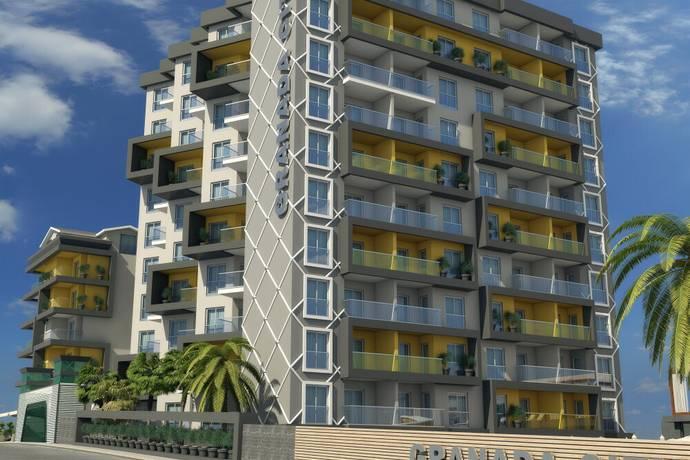 Bild: 2 rum bostadsrätt på Granada City, Turkiet Alanya