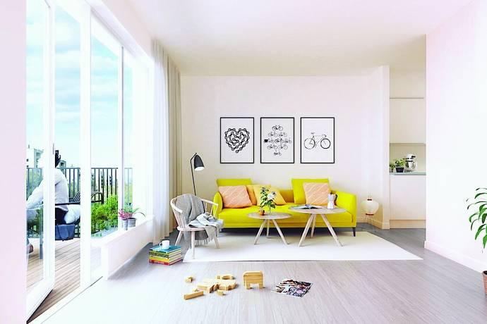 Bild: 2 rum bostadsrätt på Termikgatan 49 E, Örebro kommun Södra Ladugårdsängen