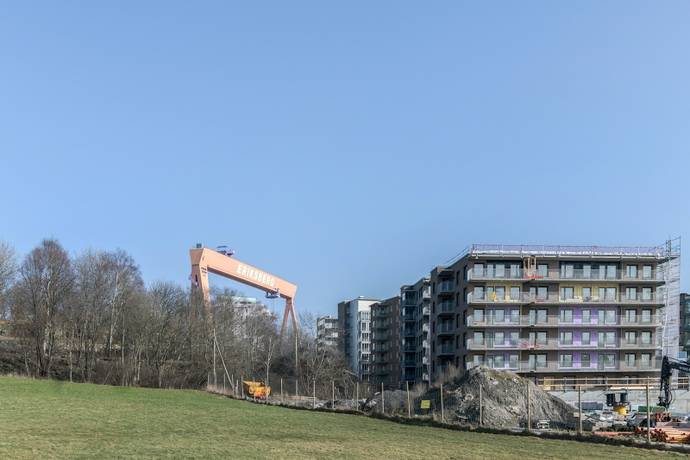 Bild: 3 rum bostadsrätt på Monsungatan 89, Göteborgs kommun Eriksberg