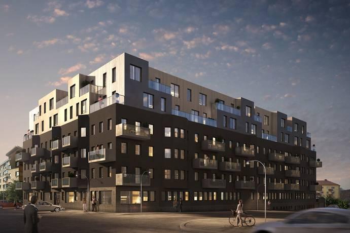 Bild: 3 rum bostadsrätt på Starrbäcksgatan 11, Sundbybergs kommun Centrala Sundbyberg