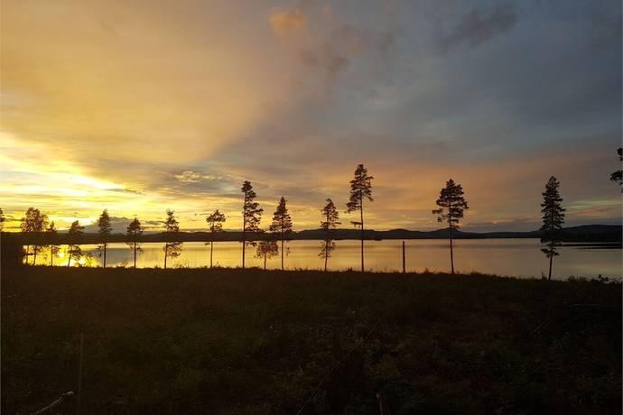 Bild: tomt på Solgläntan - Kraterstigen, Hudiksvalls kommun Dellenbygden