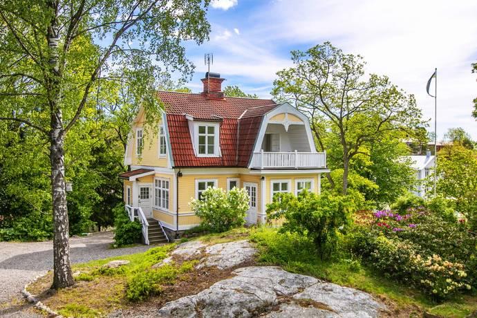 Bild: 6 rum villa på Bergabovägen 7, Nacka kommun Saltsjöbaden - Älgö