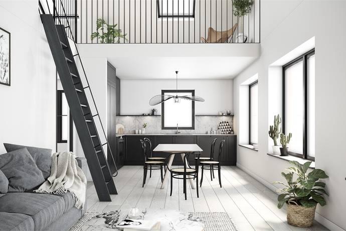 Bild: 2 rum bostadsrätt på Götaporten, Guldmyntsgatan, Göteborgs kommun Högsbo