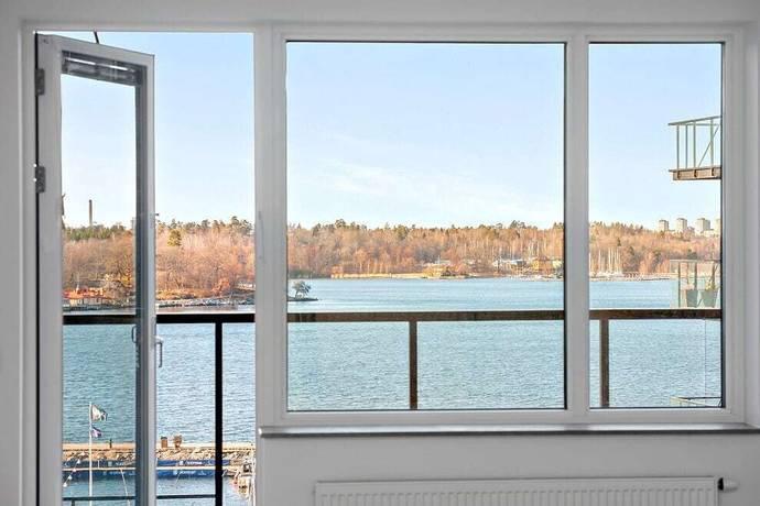 Bild: 3 rum bostadsrätt på Augustendalsvägen 25, vån 5, Nacka kommun Nacka strand