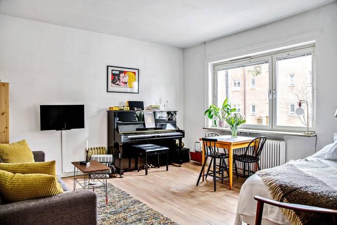 Bild: 2 rum bostadsrätt på Hökmossevägen 18, Stockholms kommun Telefonplan/Hökmossen