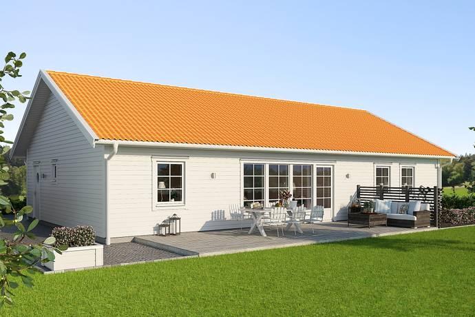 Bild: 6 rum villa på Kolyckevägen , Varbergs kommun Trönningeby