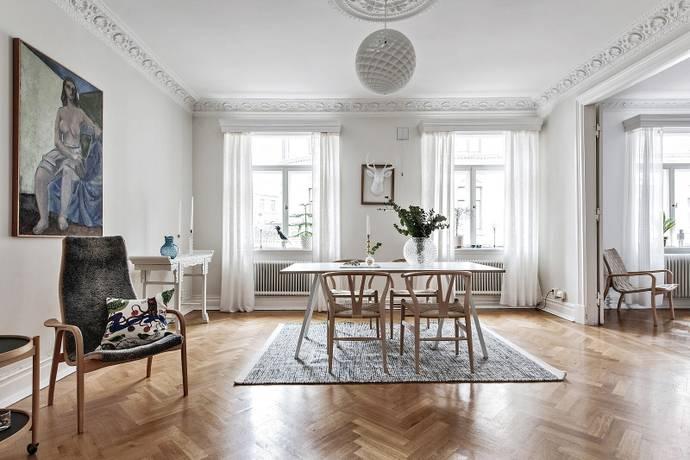 Bild: 3 rum bostadsrätt på Tredje Långgatan 5, Göteborgs kommun Linné