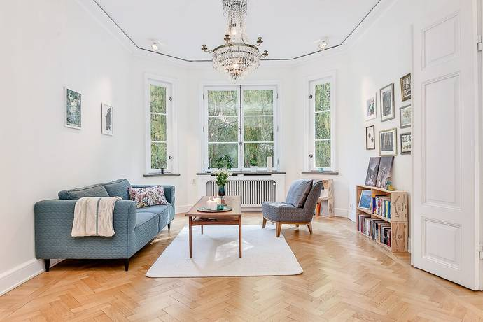Bild: 3,5 rum bostadsrätt på Birger Jarlsgatan 44, Stockholms kommun Östermalm / City