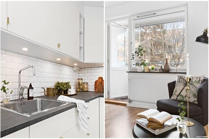 Bild: 3 rum bostadsrätt på Lillåkersvägen 50, 2 tr, Lidingö kommun Gångsätra