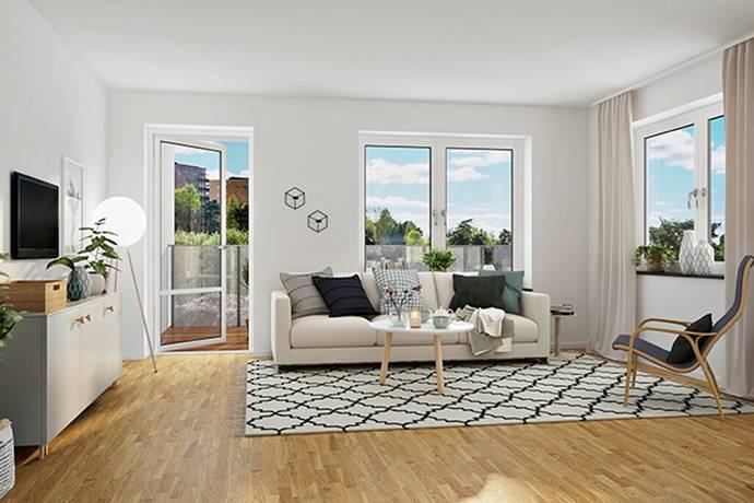 Bild: 2 rum bostadsrätt på Brf Mälarutsikten/3-1002, Strängnäs kommun Eldsund