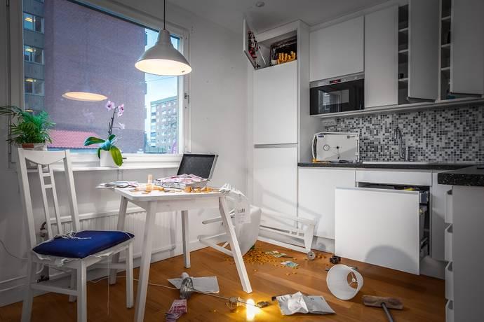 Bild: 1,5 rum bostadsrätt på Slottsgatan 129, Norrköpings kommun Centralt