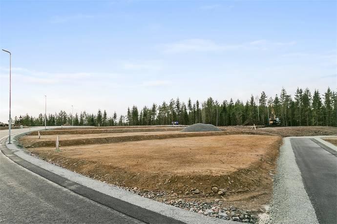 Bild: tomt på Korpvägen 12, Dals-Eds kommun Ed