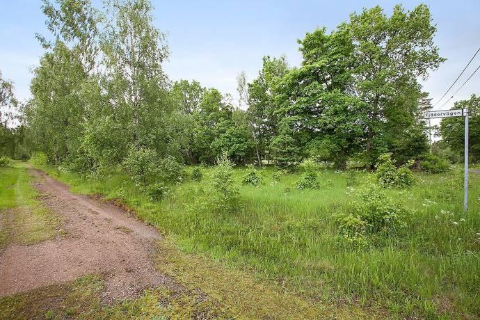 Bild: tomt på Fjädervägen 6, Hässleholms kommun Västra Torup