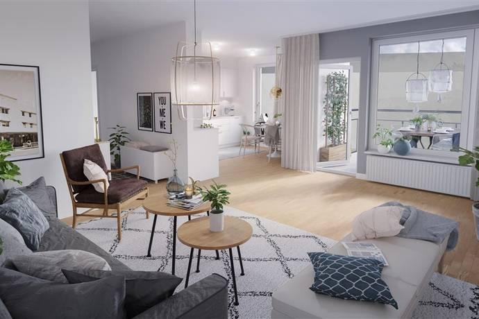 Bild: 3 rum bostadsrätt på Kabingatan - 5, Örebro kommun Södra Ladugårdsängen